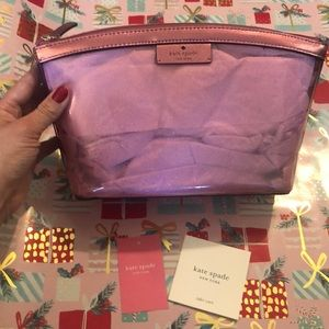 Kate Spade Medium Cosmetic Pouch.